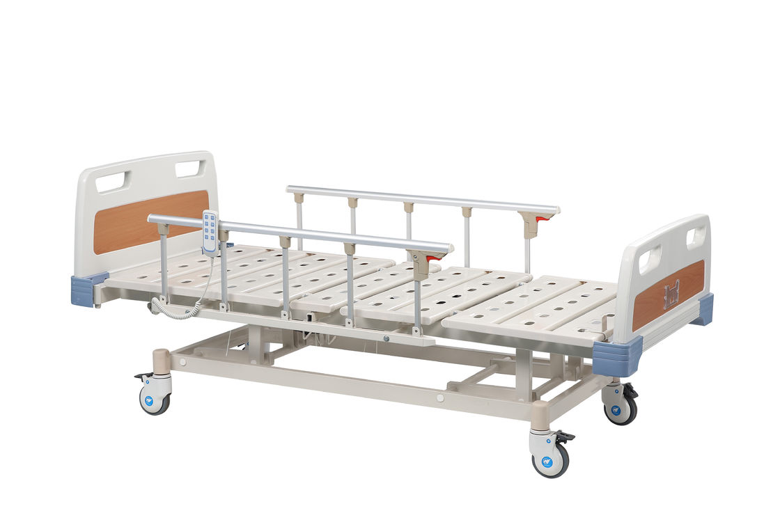 Luxurious ICU Patient Electric Medical Bed / Hospital Bed Remote Control