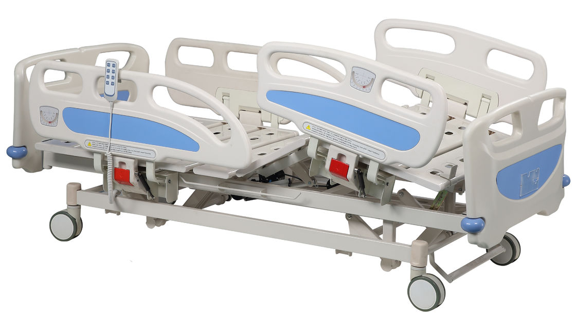 Electric Medical Hospital Bed With Cold Rolled Steel Bedboards