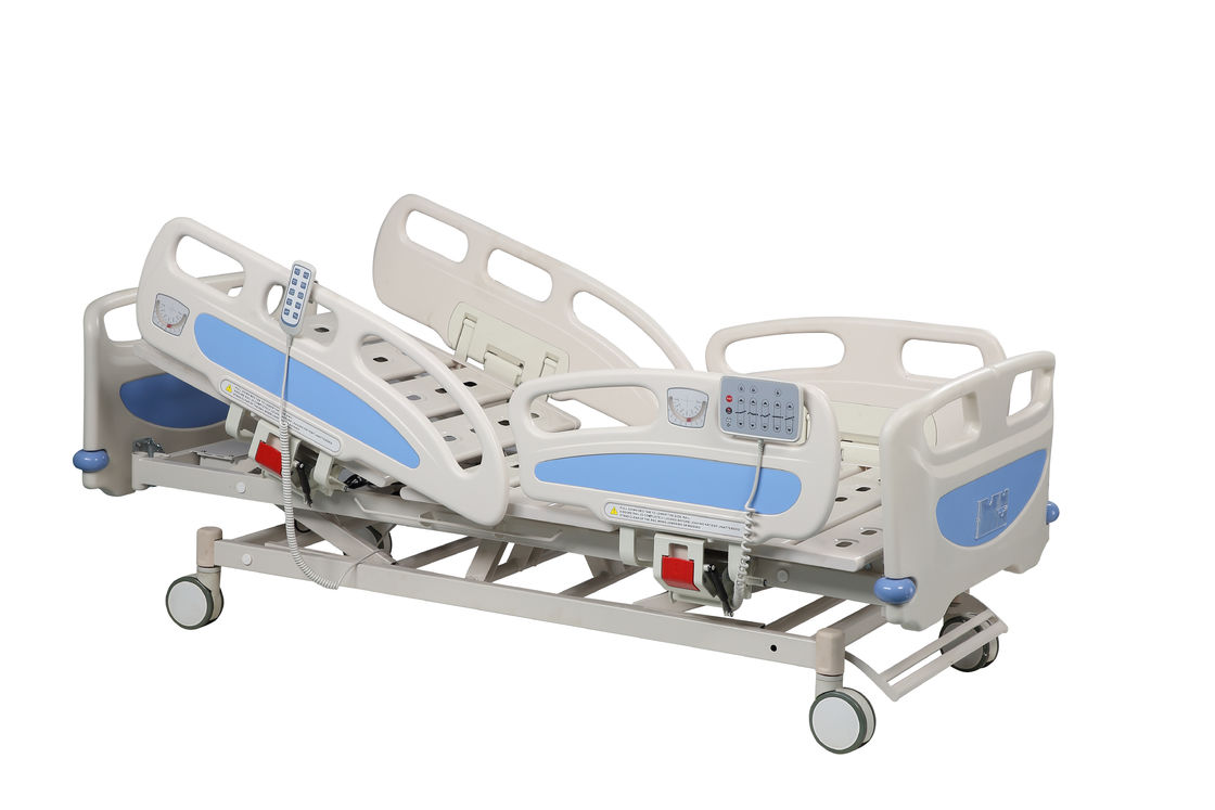 Disabled ICU Hospital Bed Five Function Intensive Care Electric Medical Bed