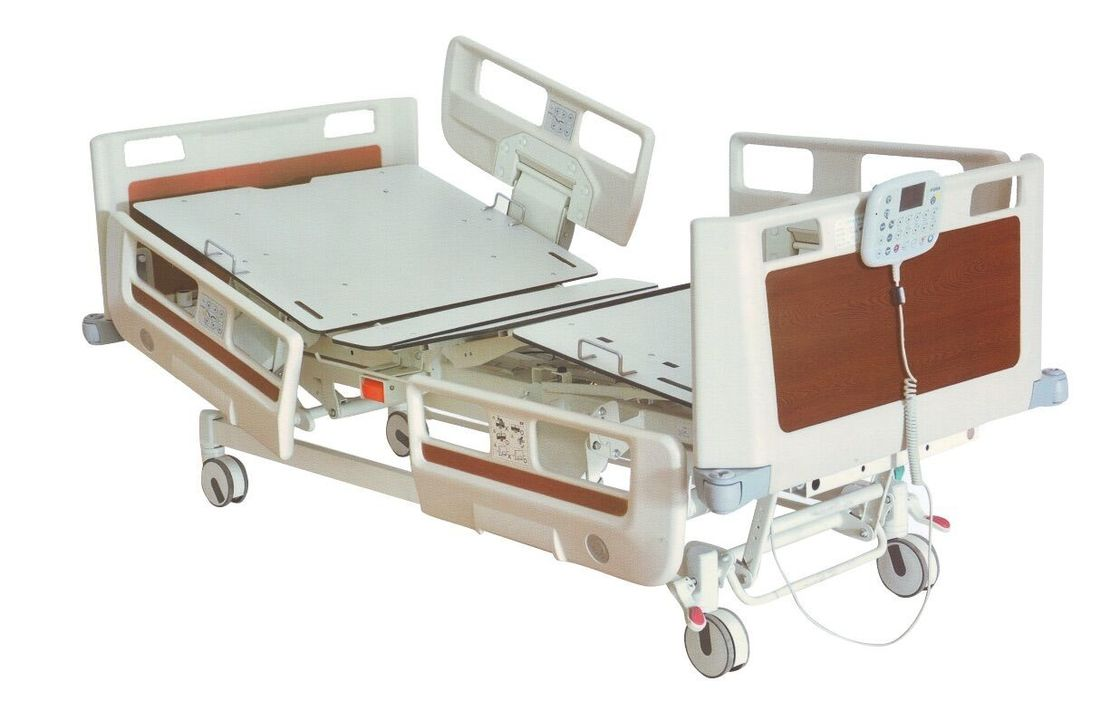 Electric Multi - Function Hospital ICU Bed Folding For Patient ODM / OEM Service